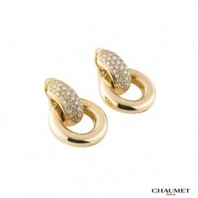 ChaumetDiamond Hoop Earrings